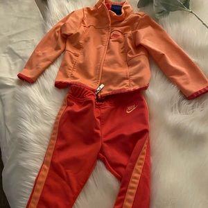 Nike baby girl jumpsuit